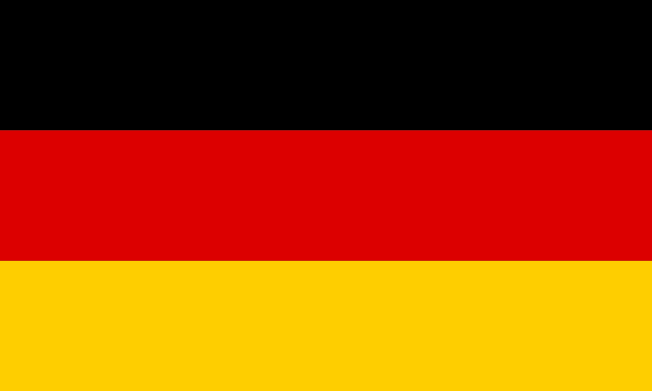 Almanya bayrağı, Germany, Deutschland