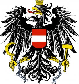 Avusturya arması, Avusturya Boşanma Davası