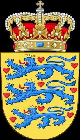 danimarka arma national coat of arms of denmark